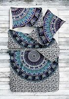 Indian Duvet Doona Cover Cotton Mandala Hippie Bohemian New Quilt 2 pillow Set