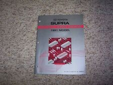 1991 Toyota Supra Factory Original Electrical Wiring Diagram Manual Book