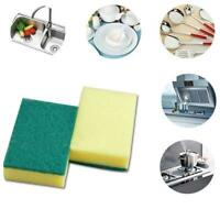 1PCS Sponge Cleaning Dish Washing Catering Scourer Pads Kitchen Tool F0I9