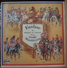 FANFARE DE CAVALERIE DE LA GARDE REPUBLICAINE/MARC MOREAU GATEFOLD FRENCH LP