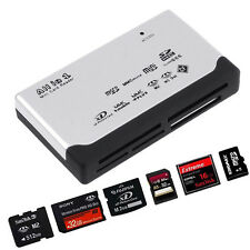 USB2.0 Multi Card Reader for SD XD MMC MS CF SDHC TF Micro/Mini SD All In One