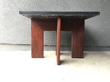 ADRIAN PEARSALL CRAFT ASSOCIATES SLATE TABLE VINTAGE MID CENTURY MODERN EAMES