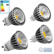 Focos Bombillas LED Blanco Frío Cálido Neutral Lámpara Luces 4W 6W 9W GU10 MR16 COB