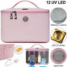 Portable UV Sterilizing Bag 12 LED UVC Light Disinfection Bag USB Sterilizer Box
