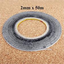 2mm Doppelseitiges Klebeband 3M Länge 50m Rolle Klebestreifen Handy Reparatur