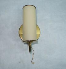 Art Deco Wandlampe Tubus Glasschirm Bauhaus Lampe Wandleuchte