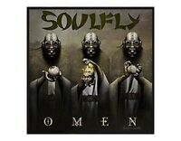 SOULFLY omen 2010 - WOVEN SEW ON PATCH official merchandise - no longer made