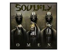 SOULFLY omen 2010 - WOVEN SEW ON PATCH official merchandise