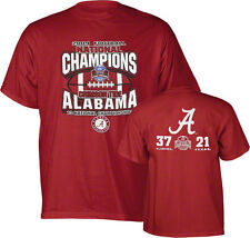 Alabama Crimson Tide 2009 National Champions shirt medium new TL Sportswear BAMA