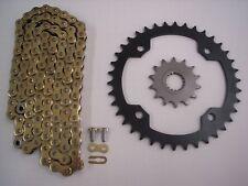 YAMAHA RAPTOR 700 SPROCKET & GOLD HD CHAIN SET 15/38 2006 2007 2008 2009 - 2013