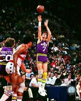 Pete Maravich Jazz  Wes Unseld Baltimore Bullets Licensed 8x10 Photo
