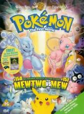 Pokémon - The First Movie DVD (2000) Kunihiko Yuyama cert PG Fast and FREE P & P