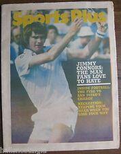 Jimmy Connors (Tennis Star) Oct. 14, 1977 Boston Globe Sports Plus