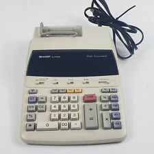 Sharp EL-2192RII adding machine calculator 12-digit 2-color printer