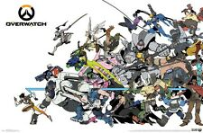 OVERWATCH - CHARACTERS POSTER - 22x34 - VIDEO GAME 15790