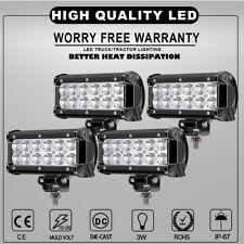 4x 7inch 36W LED Light Bar Spot Offroad 4WD ATV Fog Boat Driving Truck Light 12v