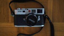 Leica M8.2 Digitalkamera - silbern verchromt -25500 Auslösungen * Restgarantie *