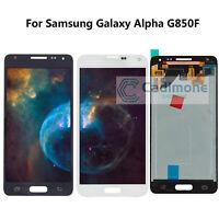 OLED Pour Samsung Galaxy Alpha G850F écran tactile Digitizer Affichage LCD RHN02