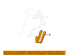 FORD OEM 00-03 Taurus Rear Seat Belt-Center Middle YF1Z74600A38AAC