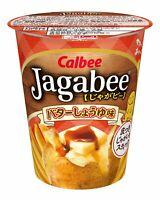 Calbee Jagabee (Jagabi) butter soy sauce 40g ~ 12 cup