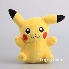 Rare Pokemon Pikachu Figure Plush Soft Toy Stuffed Doll Teddy 8'' Gift