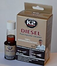 K2 DIESEL 50ml FUEL INJECTOR CLEANER LOWER EMMISIONS FUEL ALL ENGINES ADDITIVE