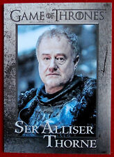 GAME OF THRONES - Season 6 - Card #75 - SER ALLISER THORNE - Rittenhouse 2017