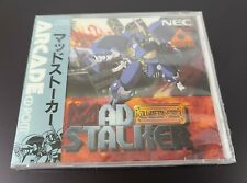 PC Engine Mad Stalker Full Metal Force Arcade Card Turbo Duo NEW Repro