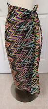 Women's SARONG Wrap Swimsuit Cover Up Dress Scarf Multi-Color Chiffon NEW BJ19