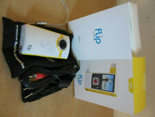Flip Video Ultra U1120 Flash Media Camcorder w/ box & manuals