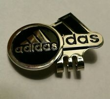 Brand New Adidas Black and Silver Golf Ball marker with hat clip!!