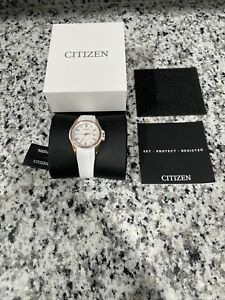 Citizen Eco-Drive Naismith Women's Rose-Gold Tone 38mm Watch FE6136-01A