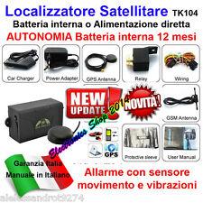 Rastreador TK104 GPS GSM Asistente de localización Waterproof Luz Potente Imán