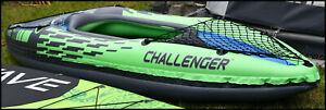 Intex Challenger K1 Kajak Inflatable Schlauchboot Aufblasbar Kanadier Kanu