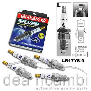 Renault Laguna Grandtour Nevada 1.8; 2.0 95 > 01 n.4 Plugs LPG Methane LR17YS-9