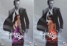 CASINO ROYALE - BOND 007 - CRAIG / GREEN / MURINO - RARE ADVANCE POSTER SET