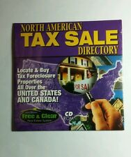 JOHN BECK'S FREE & CLEAR N AMERICAN TAX SALE DIRECTORY REAL ESTATE SYSTEM CD ROM