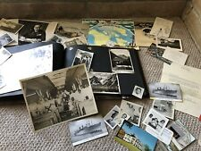 Vintage Ww2 Era African American Scrapbook Photo Album Germany Rare Pictures 50s