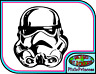 Star Wars Storm Trooper V Vinyl Sticker Car Truck Window Wall Poster Art Decal