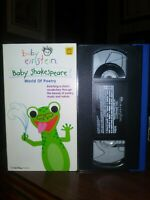 Baby Einstein - Baby Shakespeare VHS DISNEY EDUCATIONAL RETRO FREE SHIPPING