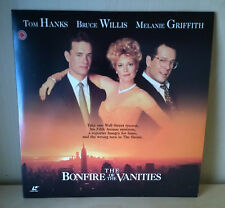 THE BONFIRE OF THE VANITIES Laserdisc - NTSC Widescreen Edition 2LD
