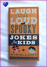 LAUGH OUT LOUD SPOOKY JOKES BOOK for Kids -128pg Funny Jokes Suit 6-10 yrs NEW
