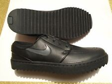 New Nike Janoski G SL Men's Spikeless Golf Shoes Black Leather AT4967-001