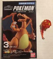 "3"" Inch Charizard Shodo Action Figure Pokemon With Accessory US SELLER Bandai"