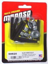 "Moroso 68820 Valve Cover Stud Kit 1/4""-20 Thread -Set of 8- 1.750"" Lock Nuts SBC"