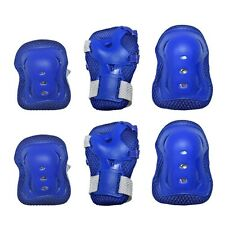 Roller Blading Wrist Elbow Knee Pads Blades Guard 6 pcs Set for Youth Kids