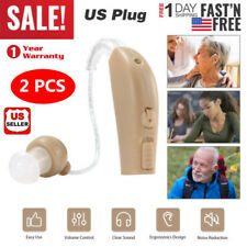 A Pair of Digital Ear Hearing Aid Kit Noise Cancelling Sound Voice Amplifier