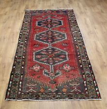 OLD WOOL HAND MADE  ORIENTAL FLORAL ALL  AREAS RUG CARPET 282 X 100 CM