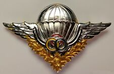 Cambodia Special Forces Paratrooper Airborne Instructor Jump Wings Medal Badge