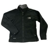The North Face Windstopper Womens Small Black Full Zip Fleece Jacket